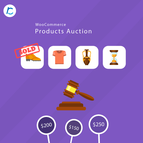 Woocommerce Products Auction